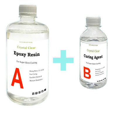 Crystal Clear Epoxy Resin General Purpose - 120g 240g 400g 800g 1kg 2kg 5kg