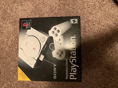 Brand New Sony PlayStation Classic Video Game Console - Gray