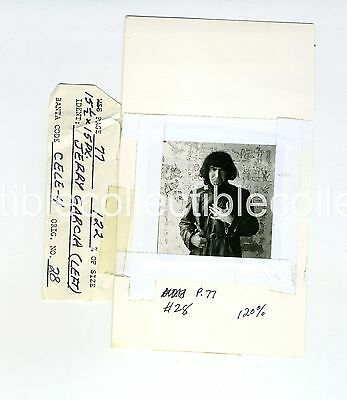 Jerry Garcia vintage 1966 San Francisco Grateful dead vintage proof photo exces