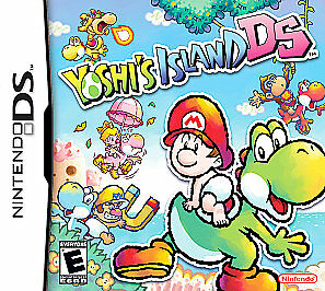 Yoshi's Island DS (Nintendo DS, 2006) GAME ONLY TESTED AND WORKING USA SELLER