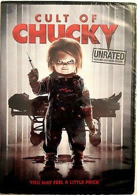 CULT OF CHUCKY UNRATED with BONUS FEATURES * DVD * BRAND NEW FACTORY SEALED!