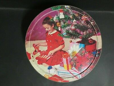ARNOTT'S BISCUIT ASSORTMENT CHRISTMAS TIN FROM 1960's 3 LB TIN