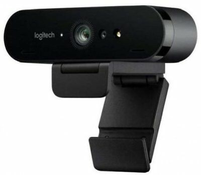 Logitech BRIO Business Grade 4K Ultra HD Gaming Webcam with RightLight3 and HDR