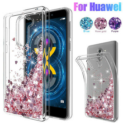 For Huawei P40 Mate 20 Pro P30 Lite P20 Y9 Y7 Glitter Quicksand Soft  Case Cover