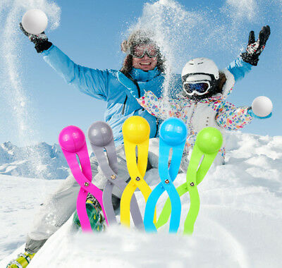 Big Size Snowball clip Winter Snow Ball Maker Sand Mold Tool Kids Toy Snow Scoop