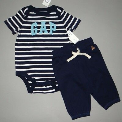 Baby Boy Clothes 3 6 Months Baby Gap Logo Bodysuit Matching Pants