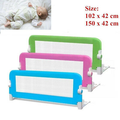 Kids Bed Guard Toddler Safety Bed Rail Children Bedguard Folding Metal Rail New