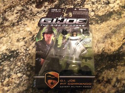 GI Joe The Rise of Cobra PIT COMMANDO Covert Military Force Army Troop Build MIP