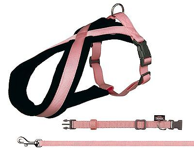 Dog Comfort Harness Soft Fleece or collar Lead Matching items Dog Baby Pink SALE