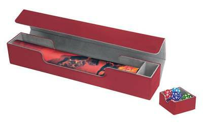 Ultimate Guard Flip n Tray Mat Case XenoSkin Red Ultimate Guard NUOVO