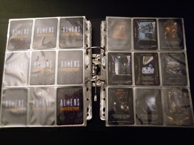 Aliens Predator CCG Premiere Ressurection 336 cards lot Rare Fixed Promotional