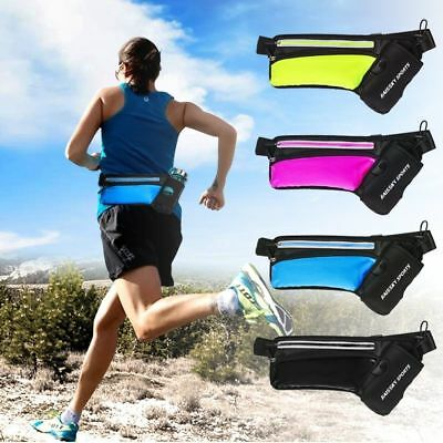 Hydration Belt Bum Bag Outdoor Sports Running Jogging Waist Water Bottle Holder