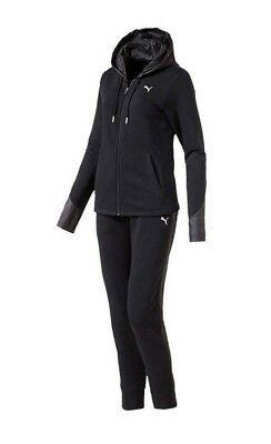 PUMA Hoody Trainingsanzug Kinder Mädchen Jogginganzug Cotton Sweat Suit blk.164
