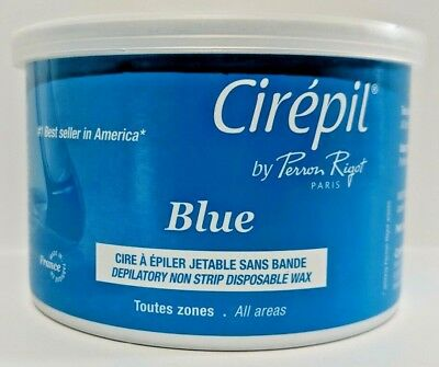 Cirepil by Perron Rigot Non Strip Blue Disposable Wax Paris France Hair Removal