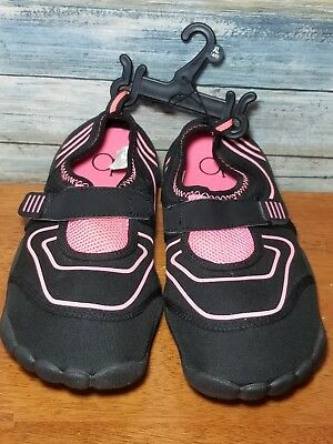 01c893cf2 Ocean Pacific OP size XL Water Shoes Pink NEW 4 - 5 Girls Youth Flats Swim