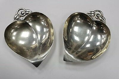 Pair Of Tiffany & Co. Sterling Silver Small Candy/nut Dishes