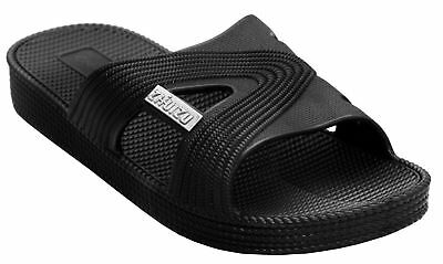 Mens Slip On Beach Mules pool Sliders Flip Flops sandals Size 6 7 8 9 10 11