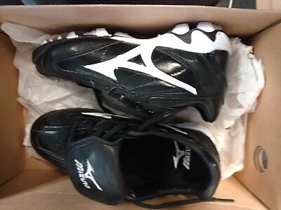 40eba50f0fb9 Mizuno 9 spike Youth Franchise Low G4 plastic baseball Cleat Youth Size 2