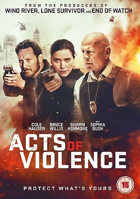 Acts of Violence [DVD] Bruce Willis Action movie Gift Idea Cole Hauser NEW
