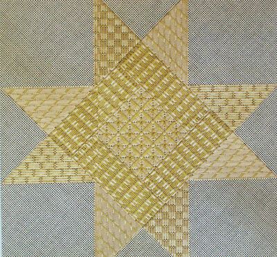 Jane Zimmerman Another Star Counted Needlepoint Chart/Pattern