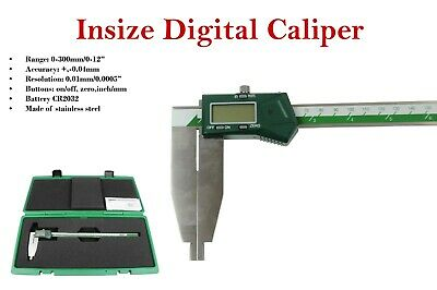 "Insize electronic digital caliper  0- 300mm /0 - 12"" (1170-300) Battery included"