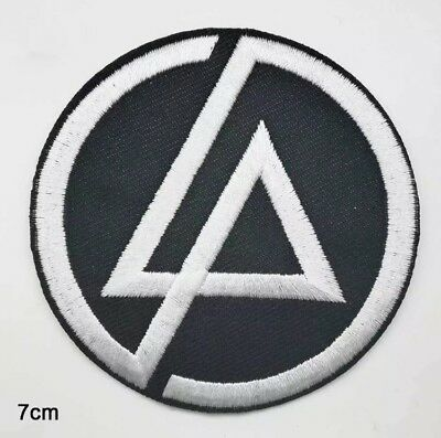 1x Linkin Park Band Embroidered Iron On Sew On Patch DIY