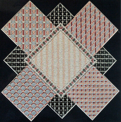 Jane Zimmerman Diamonds Galore Counted Needlepoint Chart/Pattern