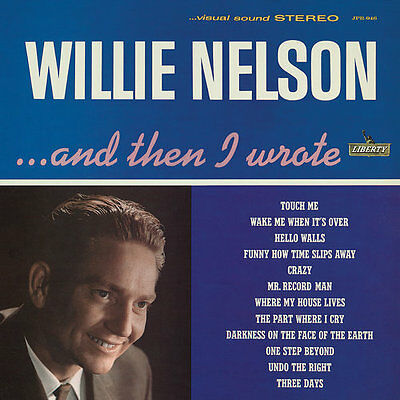 "Willie Nelson - ""And Then I Wrote""  1962 Debut Colored Vinyl LP SEALED - Jackpot"