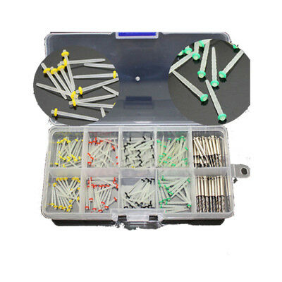 NEW 160*Dentist Dental Glass Fiber Post Single Refilled Package & 32PCS Drills