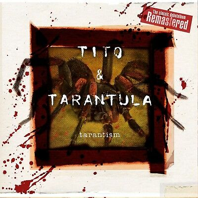 Tito & Tarantula - Tarantism (Remastered Digipak)  Cd New!
