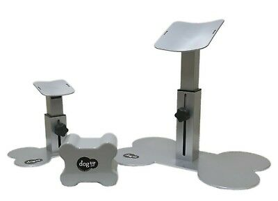 DogUp Stand - Portable Dog Grooming Support Stand, Keeps Dogs From Sitting