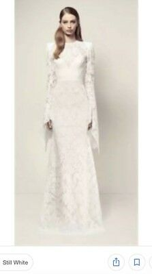 Alex Perry Niamh Gown White Wedding Dress Size 8