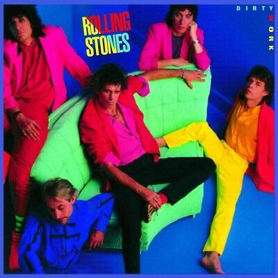 """The Rolling Stones """"Dirty Work (2009 Remastered)"""" Cd"""
