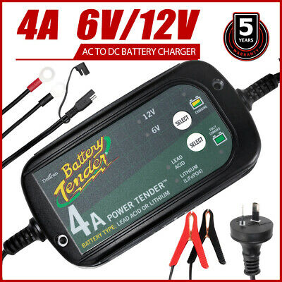 6V / 12V 5A AGM Battery Charger Maintainer Car Motorbike Deep Cycle SLA MF