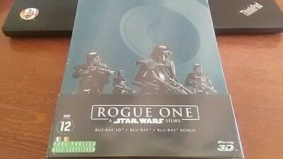 A Star Wars Story : Rogue One STEELBOOK Blu-ray 3D + 2 blu-ray