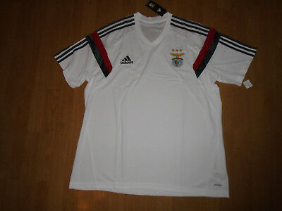 BNIP Benfica training shirt size XXL, adidas adizero, superb! - UK FREEPOST!