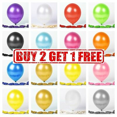 20 Latex PLAIN BALOONS BALLONS helium BALLOONS Quality Party Birthday Wedding