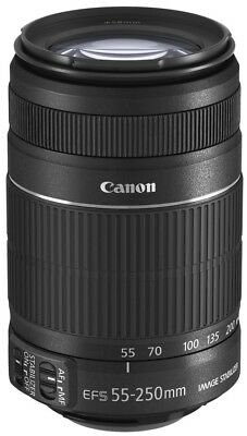 Canon EF-S 55-250 mm F4.0-5.6 IS II 58 mm Filtergewinde (Canon EF-S Anschluss) s