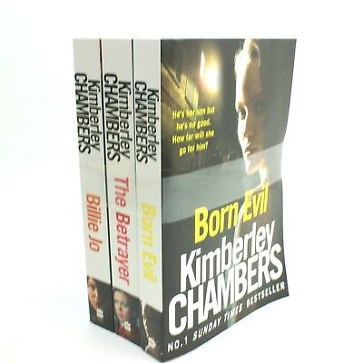 Kimberley chambers 3 Books Collection Set Billie Jo Born Evil The Betrayer PACK