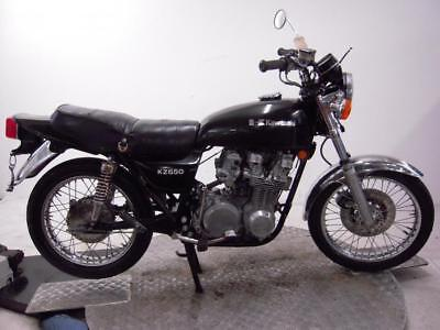 1979 Kawasaki KZ650B3 Unregistered US Import Barn Find Classic Restoration Proj