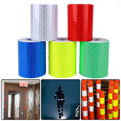 3M Car Truck Reflective Safety Warning Tape Roll Self-adhesive Film Sticker US