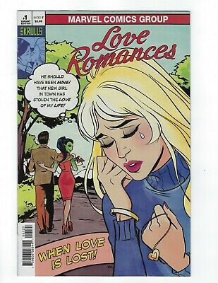 Love Romances # 1 Annie Wu Skrulls Variant Cover NM Marvel Ship Feb 20th