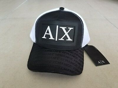 0126b9e47 ARMANI EXCHANGE A|X Men's Baseball Cap/Hat