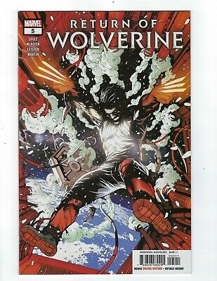Return Of Wolverine # 5 Cover A NM Marvel Ship Feb 20th