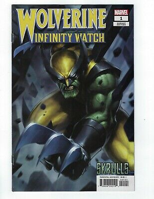 Wolverine Infinity Watch # 1 Jee Hyung Lee Skrulls Variant NM Marvel Ship Feb 20