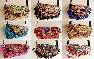 Indian Vintage Tribal Banjara Clutch Bags Purse Bohemia Wholesale Lot