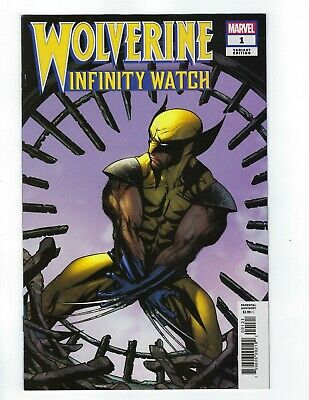 Wolverine Infinity Watch # 1 McKone 1:25 Variant NM Marvel Ship Feb 20th