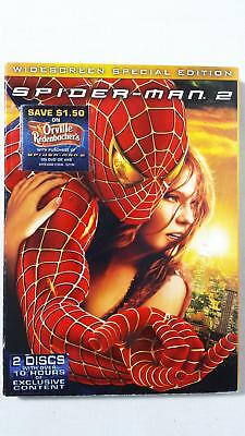 Spider-Man 2 w/ Slipcover (DVD, 2004, 2-Disc Set, Special Edition; Widescreen)