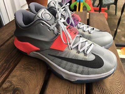 promo code 75be8 90323 New Nike KD 7 VII All Star Platinum Pink Black Mens Shoes Size 12.5 Limited  Ed