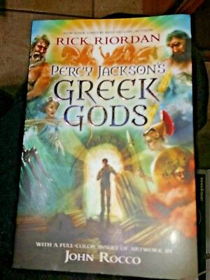 Percy Jackson's Greek Gods by Rick Riordan Paperback)Children & Young Adult
